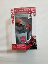 Transformers Super  Smile Set Toothbrush Holder & Rinse Cup New 22518-9 Clo1