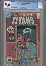 Tales of the Teen Titans #45 CGC 9.6 1984 DC George Perez Cover: New Frame