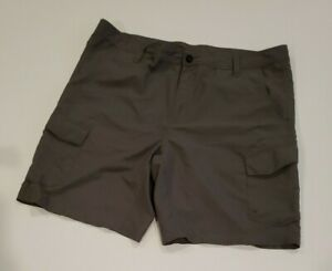 MAGELLAN OUTDOORS MENS WATER REPELLENT SHORTS GRAY SIZE 40 (SG24)