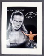 2006 World Wrestling Entertainment WWE WWF Shawn Michaels Autographed Photo 8x10