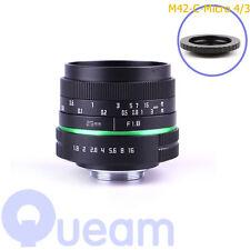 APS-C Television TV Lens/CCTV Lens For 16mm C Mount Camera 25mm F1.8 Black