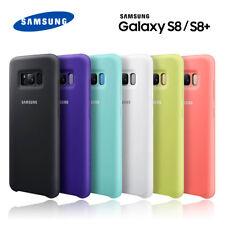 Funda Samsung Silicone Cover para S8/S8 Plus silicona suave resistente