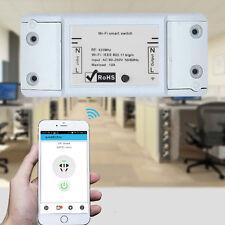 Wi-Fi Wireless Switch Smart DIY Mobile APP Control Timer Socket  op