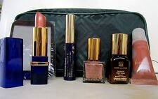 ESTEE LAUDER 6 Makeup Items/Modern Gift Set With Green Glitter Bag $80+ BIG SALE