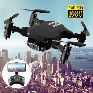 Mini Faltbar WIFI Drohne Mit 1080P HD Kamera Quadrocopter RC Drone Selfie FPV DE