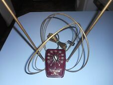 Vintage Mid Century Rembrandt Antenna Rabbitears Bakelite Antenna Untested.