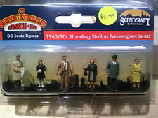 Bachmann Scenecraft 36-402 1960/70s Standing Station Passengers OO Scale