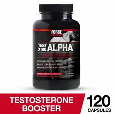 Test X180 Alpha Free Testosterone Booster to Increase Libido, Build Lean Muscle,