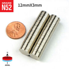 5/10/20/50pcs N52 Neodymium Disc Magnet Super Strong Rare Earth Magnets 12mmx3mm