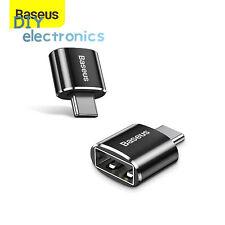 Baseus Usb C Adapter Otg Type C For Macbook Pro Air S20 Usb Converters Us