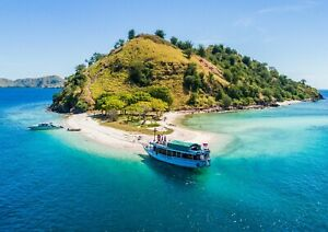 BEAUTIFUL PHOTO ISLAND PHOTO  BACKGROUND PICTURE VIRTUAL FILE JPG POSTCARD IL#02
