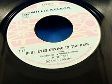 WILLIE NELSON - Blue Eyes Crying In The Rain / Remember Me.. - VG++ Canada Press