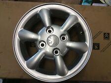 genuine new peugeot 206 alloy wheel Phoenix 9606HR 5.0jx13 ch4.24 VAS145