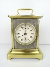 JUNGHANS Antique Carriage German Mantel Shelf Alarm Clock