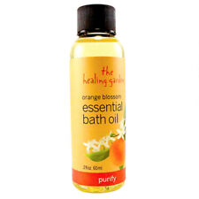 The Healing Garden Orange Blossom Women Essential Bath Oil  2.0 oz - New & Fresh
