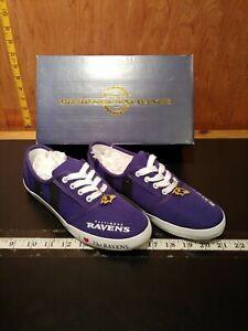 Baltimore ravens women's tennis shoes size 7.5 US NEW MINT CONDITION (shelf6)