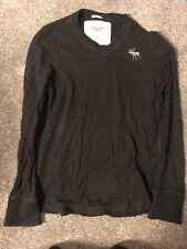 Vintage Abercrombie And Fitch Sweatshirt Jumper Muscle Fit Size Small