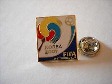 a1 FIFA FIFA U-17 WORLD CUP KOREA 2007 spilla calcio football soccer pins