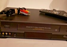 Toshiba W627 Vcr 4-Head Hi-Fi Vhs Player Recorder, Remote and Av Cables.