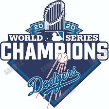 Los Angeles Dodgers 2020 World Series CHAMPIONS Decal / Sticker