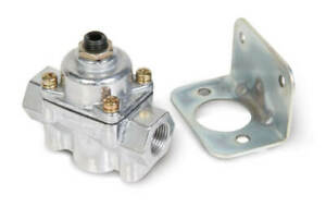 Holley 12-803BP BY-PASS REGULATOR 2 Port 4 1/2 to 9 PSI Pressure Regulator
