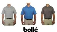 Bolle Men's Short Sleeve Performance Polo Shirt Size & Color Variety NWT