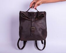 Perfect Handmade Backpack For College School Unisex Made From Genuine Leather