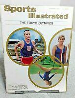 Sports Illustrated October 1964 Tokyo Olympics Vintage Magazine