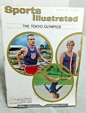 Sports Illustrated October 1964 Tokyo Olympics Vintage Magazine