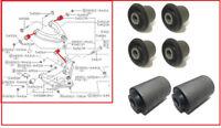 FRONT UPPER LOWER CONTROL ARM BUSH SET FOR Nissan Navara D22 Pick Up 2.5TD 98-07