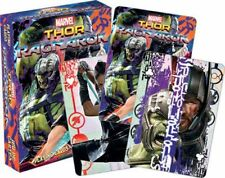 THOR RAGNAROK - PLAYING CARD DECK - 52 CARDS NEW - MARVEL COMICS 52509