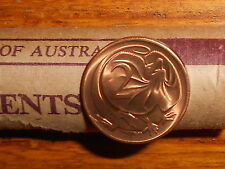 1981 2c Two Cent Uncirculated From Mint Roll Reserve Bank  Australian Mint Roll