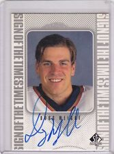 1998-99 UPPER DECK SP AUTHENTIC HOCKEY DOUG WEIGHT AUTHENTIC AUTO CARD
