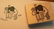 P34 Retro style photographer rubber stamp WM small