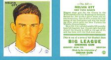 1933 Goudey Reprint #127 Mel Ott Card - New York Giants