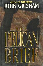 John Grisham  signed  The Pelican Brief - 1st. Ed. VG+/NF