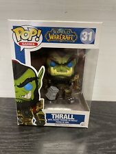 Funko Pop World of Warcraft Thrall #31 Nib Vaulted W/ Protector