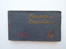 Ancien Carnet de Cartes Postales  MONACO et MONTE-CARLO  22/24  Vierges