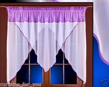 NET CURTAINS VOILE MANY COLOURS SPECIAL FOR YOU WINDOWS DECORATION MANY SIZES