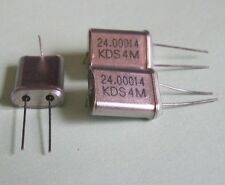 Crystals - 24.00014 Mhz Lot of 3