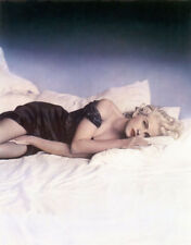 Madonna UNSIGNED photograph - L8681 - In Bed with Madonna - NEW IMAGE