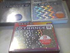 D Trance Gary D  Vol.1/2001 ,2/2001 ,3/2001    sehr guter Zustand Sammlung