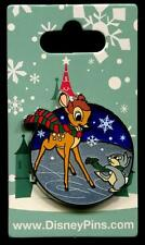 Bambi and Thumper Ice Skating Holiday Christmas 2016 Disney Pin 118885