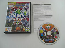 THE SIMS 3 SEASONS Limited Edition Pc DVD Rom / MAC Add-On Expansion Pack SIMS3
