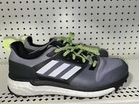 Adidas Supernova Trail Mens Athletic Trail Running Shoes Size 8.5 Gray Green