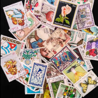 1X Vintage Value Different Stamp Collection Old Stamps China World Stamps Random