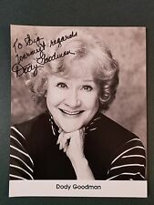 Dody Goodman-signed photo-Certified