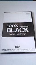 """100 % BLACK """"8 OCTAVO VOLUMEN"""" DVD"""