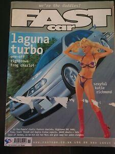 Fast Car Magazine November 2000 (396)(Rare) Katie Richmond Laguna Focus Megane