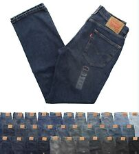 Levi's 514 Men's Straight Fit Denim Jeans Classic Blue Jean Pants